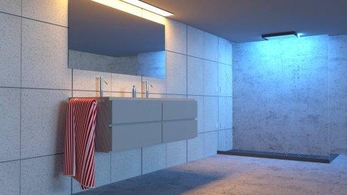 Blantyre Tilers en-suite by Glasgow Tiling Services