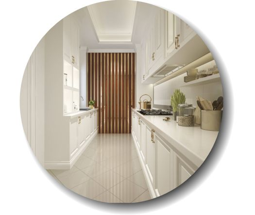 Blantyre Tilers kitchen by Glasgow Tiling Services